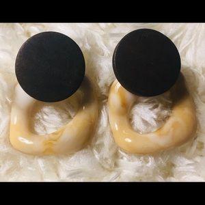 Unique stud earrings